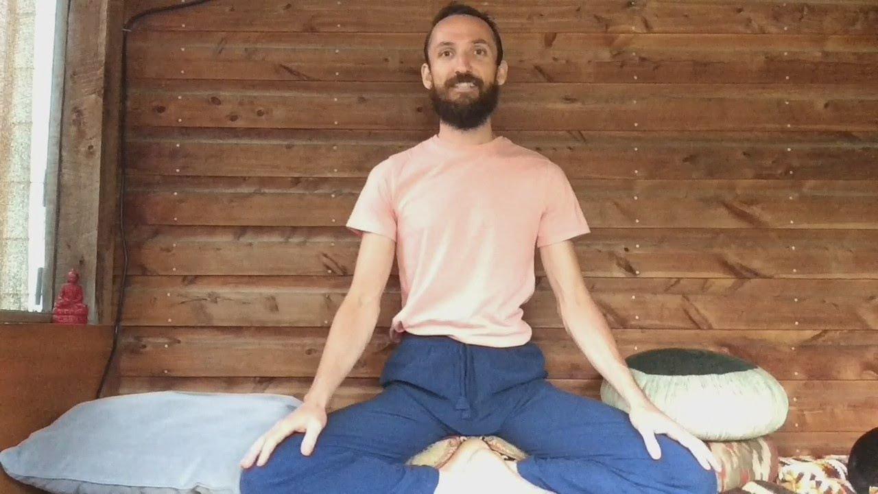 Posture: Burmese Sitting Position