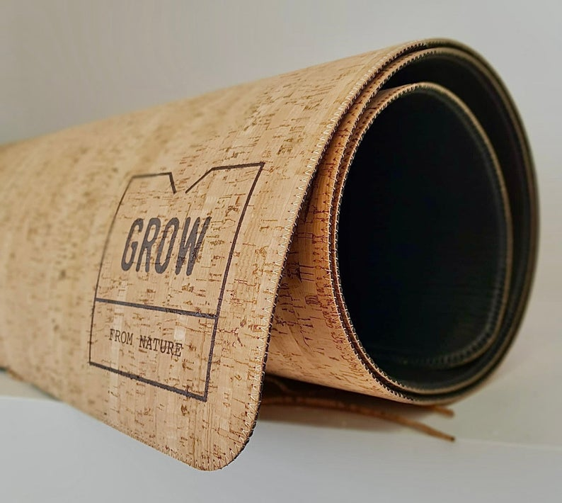 Cork Yoga Mat made of natural cork, Yoga Products, Meditation, Made in Portugal