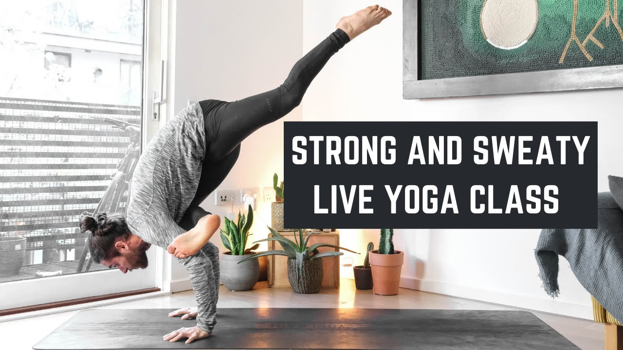 Strong And Sweaty Flow – Live Yoga Class