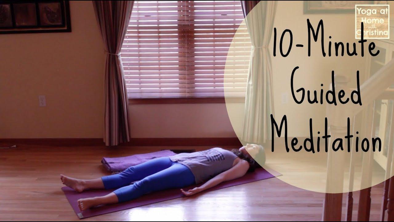 10-Minute Guided Meditation (Savasana)   Deep Relaxation – Bedtime Yoga – Relaxation