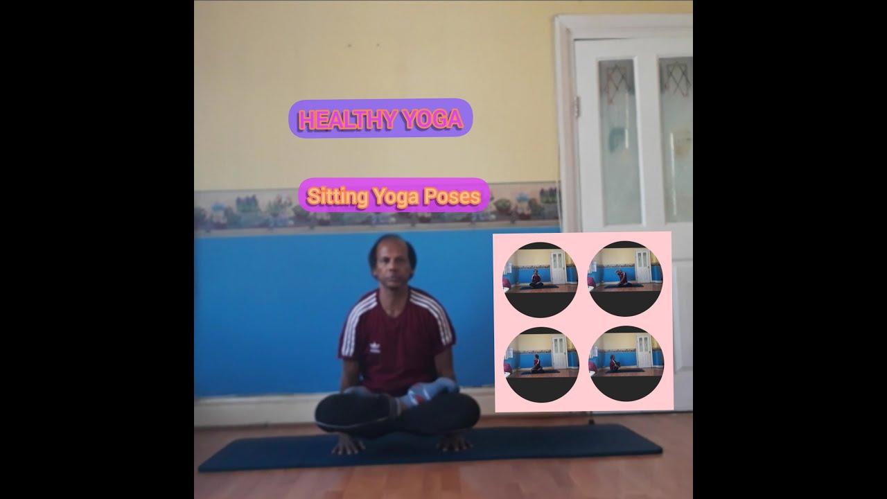 SITTING YOGA POSES ||  HEALTHY YOGA || YOGA IN TAMIL