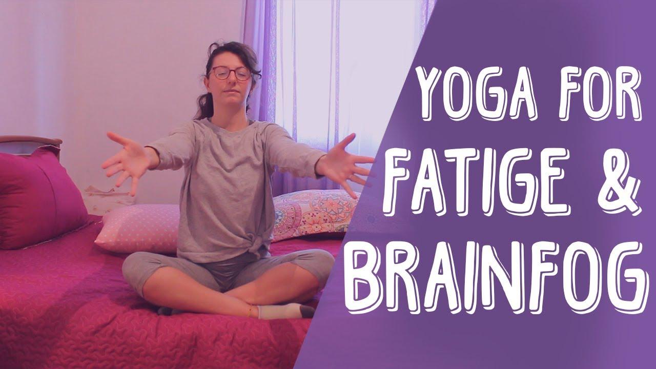 Yoga For Fatigue & Brain Fog   Restorative Rest, Bed Yoga   Yoga For Fibromyalgia