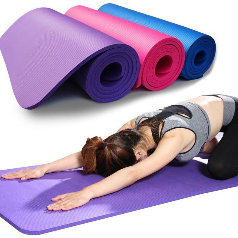 Yoga Mat Anti-skid Sports Fitness Mat 3MM-6MM Thick
