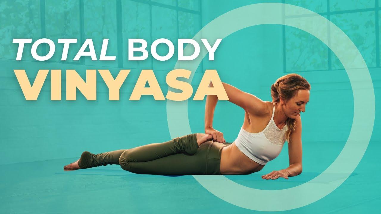 20 Min Morning Vinyasa Yoga For Beginners   FULL BODY FLOW