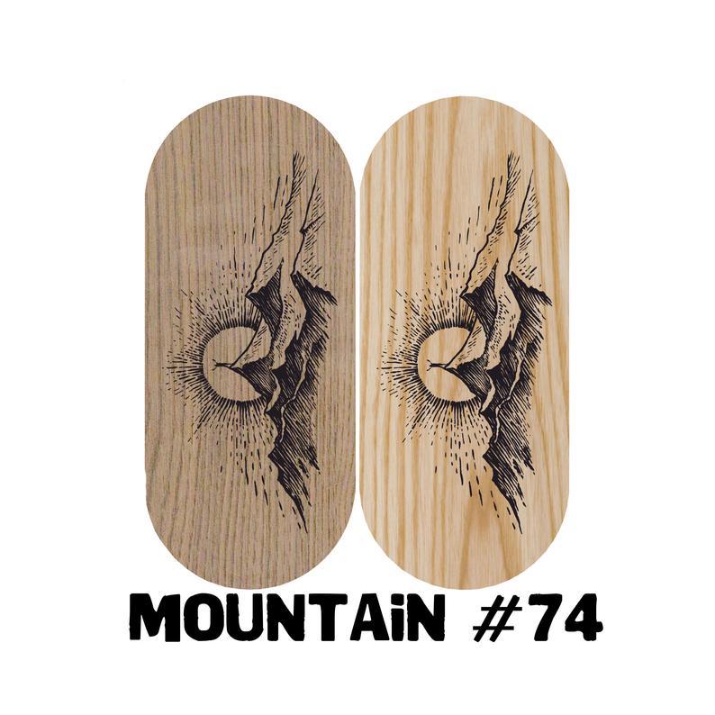 Mountain natural wood Sadhu board | Board with nails with custom design | NiiDRA nail board | Board with nails | Meditation sadhu board