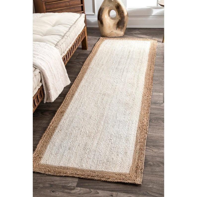 jute runner/kitchen rug/Rugs For Kitchen/Runner Rugs/Jute Runner Rugs/Available custom Size