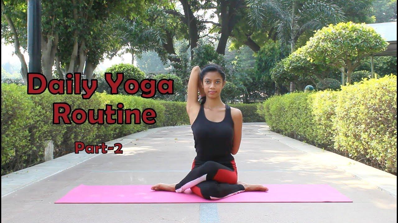 Daily Yoga Routine   Everyday Yoga   Sitting Asanas   Part-2