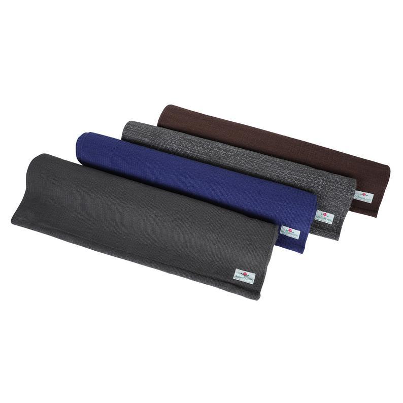 Yoga Mats – Organic Natural Cotton Mat-Yoga, Pilates, Fitness, and Meditation – (Handwoven, anti-skid & firm grip) – Solid Colors All Season