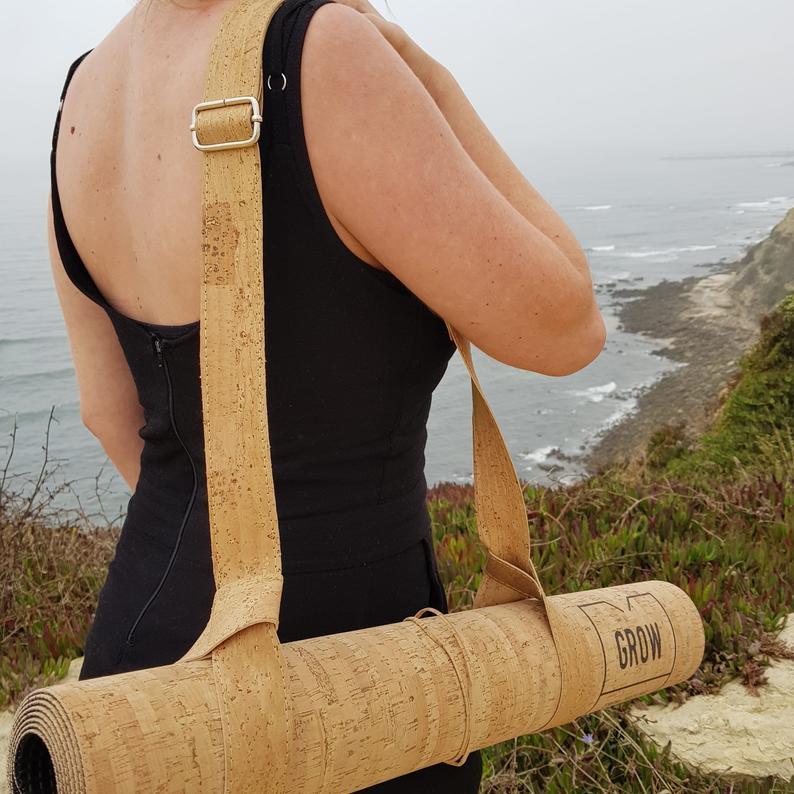 Yoga Mat Strap, Yoga Mat Bag, Carry Strap Adjustable Shoulder, Strap for Yoga Mat