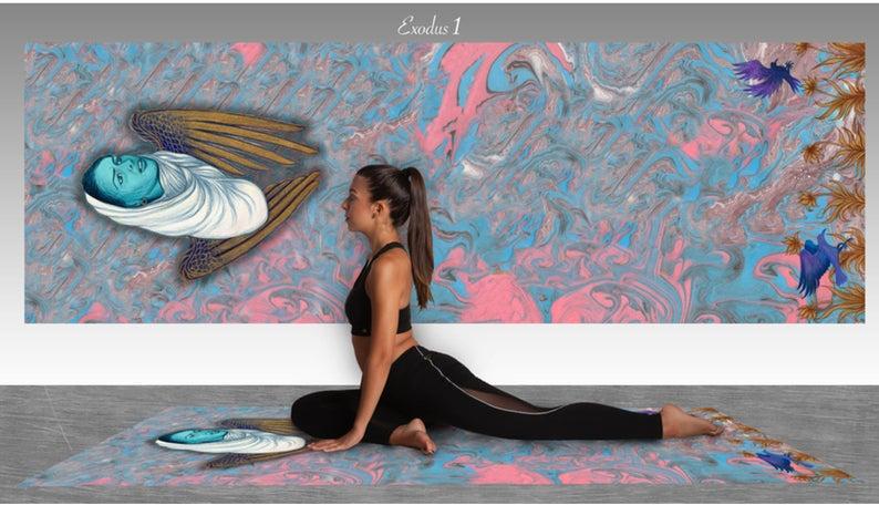 Wonderful Yoga Mat, Bath Mat or Area Accent Mat