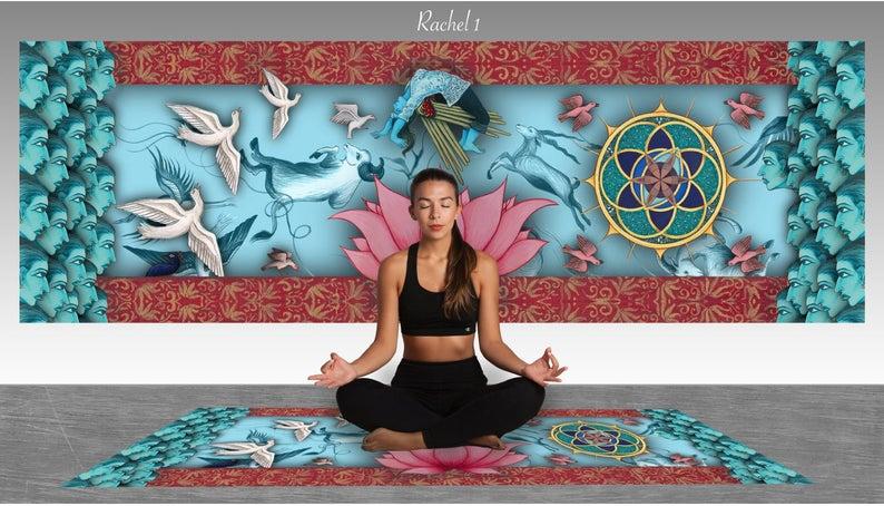 Fabulous Yoga and Floor Mat