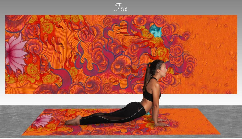 Fabulous Yoga or Floor Mat