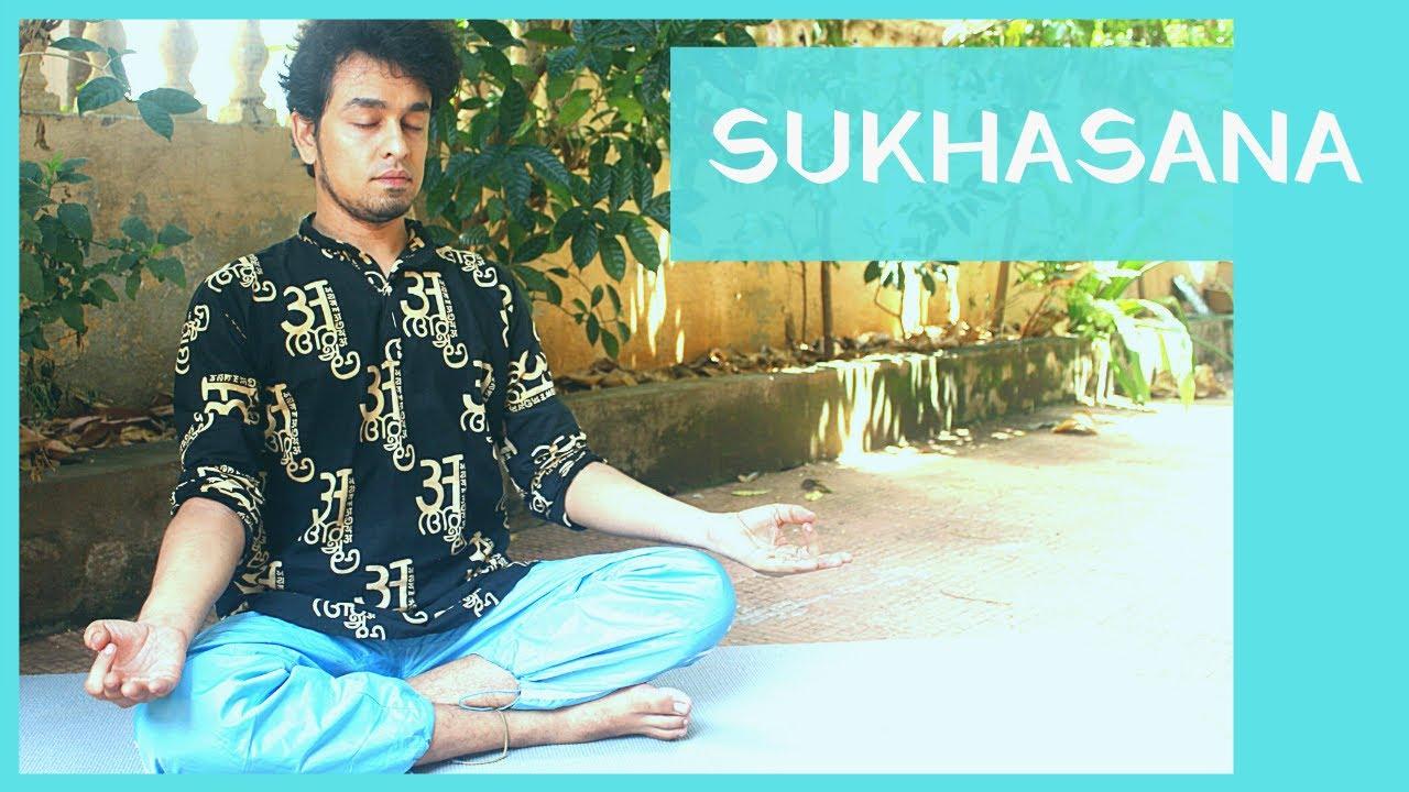 Sukhasana | Basic sitting position | Yoga Zone | Yoga for Beginners