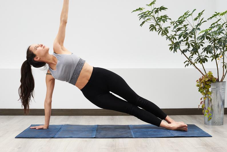 Leather Yoga Mat. Non Slip Foldable. Natural. Exercise Workout Training Mat. Pilates. Home Decor. Floor Pillow. Cushion. Seat