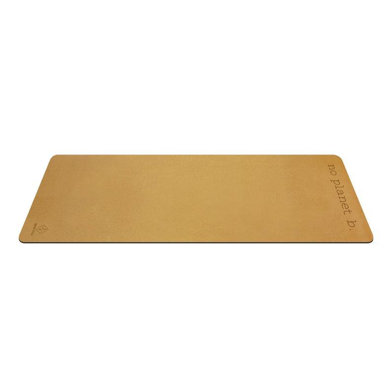 Natural Cork Yoga Mat – Natural rubber bottom – No Planet B Yoga Mat