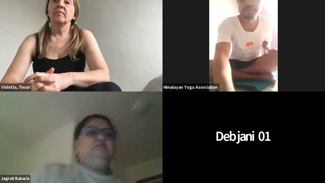 Day-41 || Zoom Yoga Class || Ashtanga-Vinyasa Sitting Postures Yoga Class By Yogi Rahul Ji || HYA
