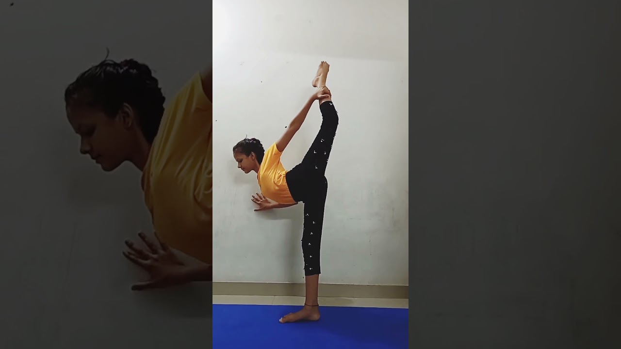 Advanced yoga pose/Stretching/