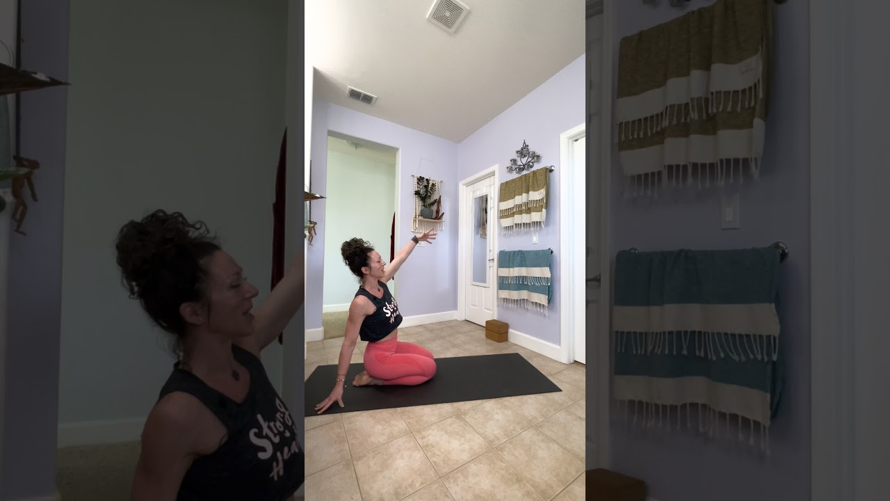 Relax the back! Low back release. Yoga folds and bends in vinyasa flow