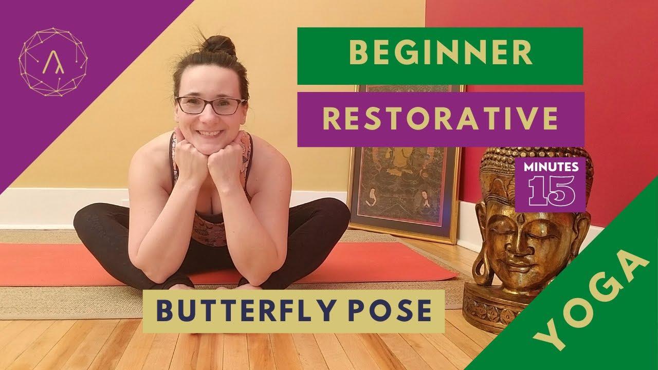 Restorative Yoga Poses for Beginner I BUTTERFLY I Neuland Yoga