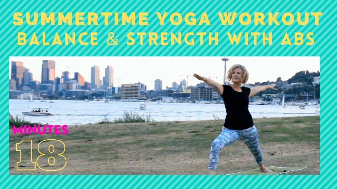 Summertime Yoga Workout Strong Paced Class Seattle 18 Mins Vicki @Yoga 4 Man – Yoga & Pilates Videos
