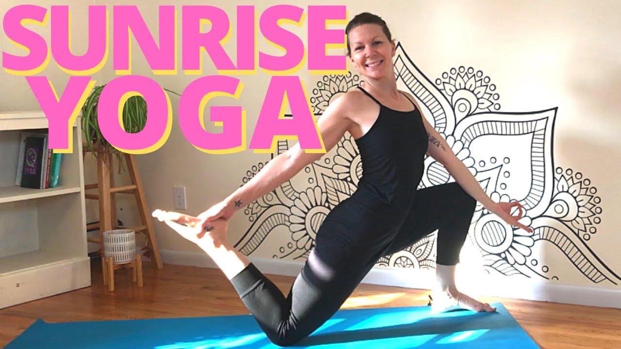 SUNRISE YOGA | 45 Minute Vinyasa Flow for Back Bending