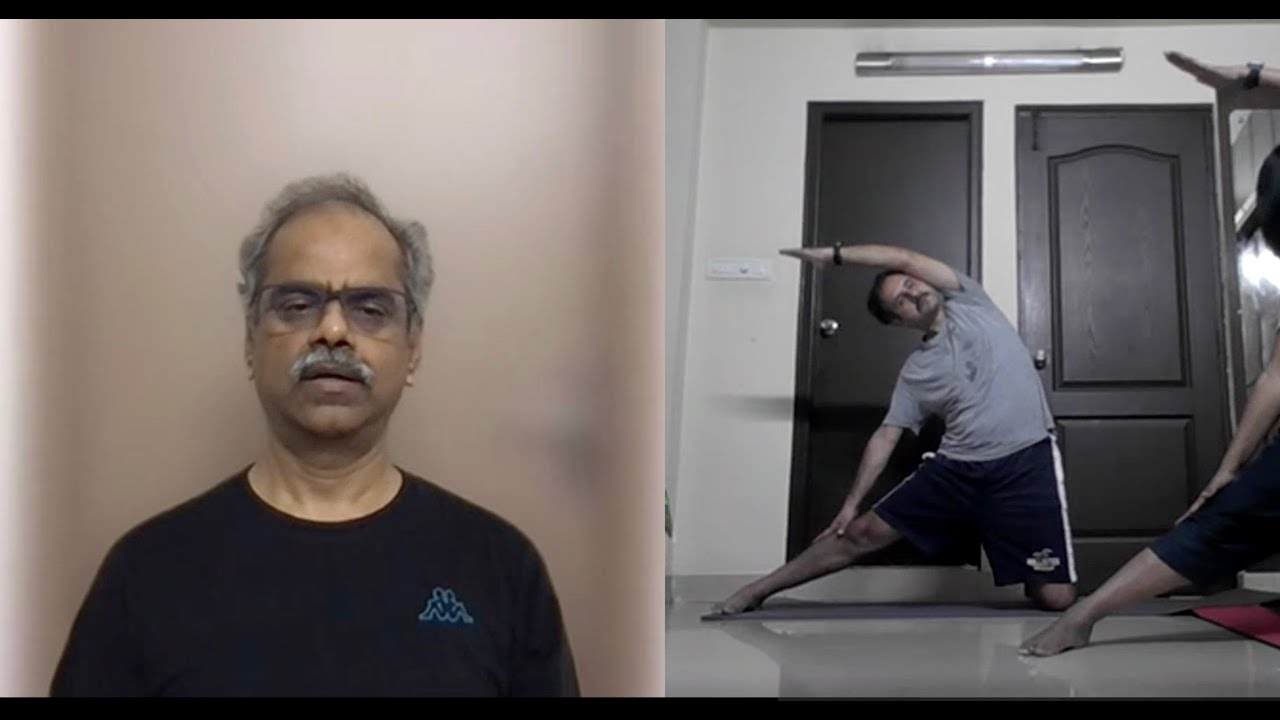 Hatha Yoga Practice  – Lateral bends & twists -20210709