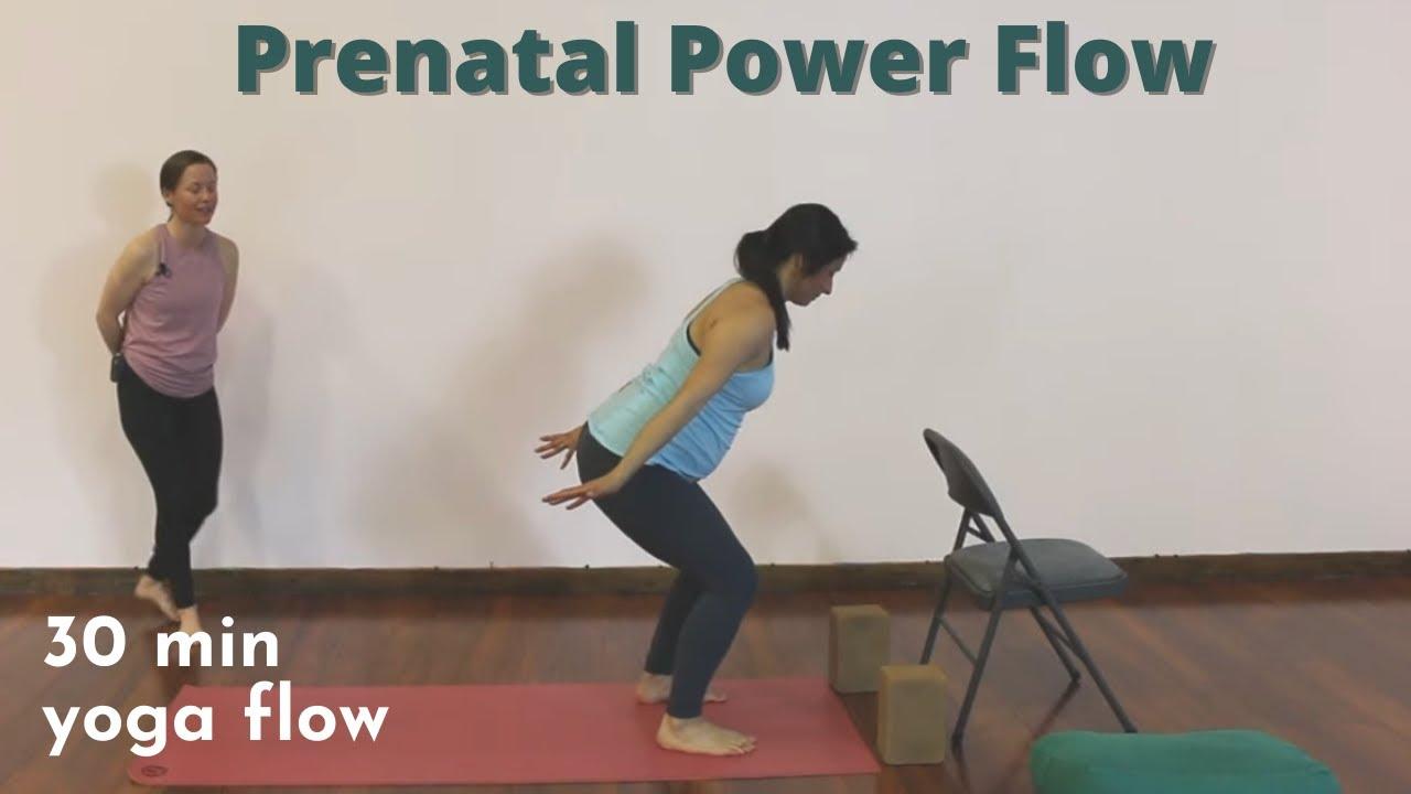 30 Minute Yoga Class – Prenatal Power Flow