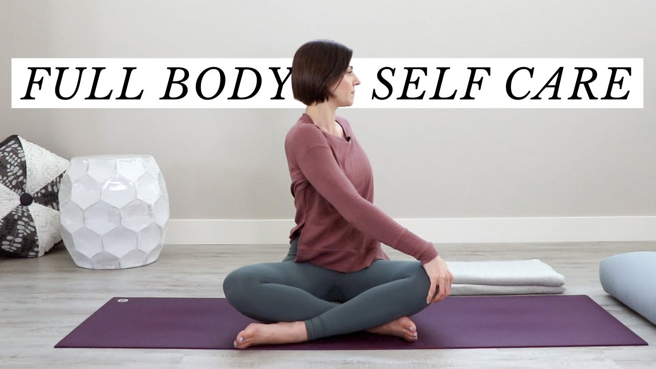 20 Minute Restorative Yoga Full Body Self-Care