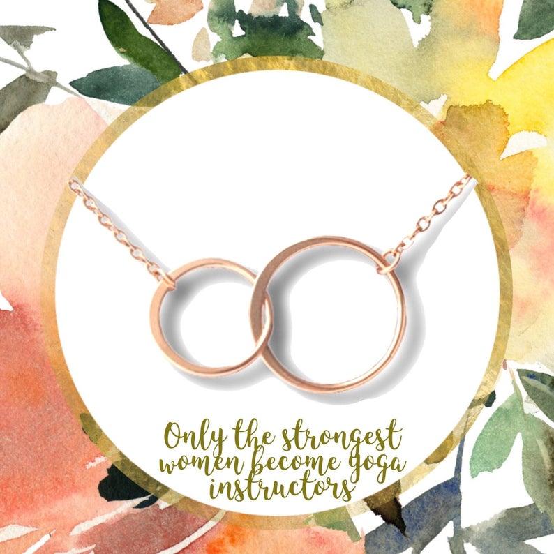 Yoga teacher gift, yoga instructor, yoga Jewelry, yoga lover, yoga necklace, cork yoga mat, yoga geek, buddah meditation necklace