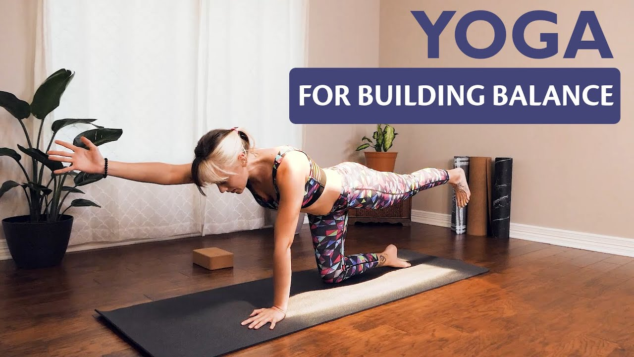 Beginners Yoga Flow for Building Balance & Breathwork with Stephanie