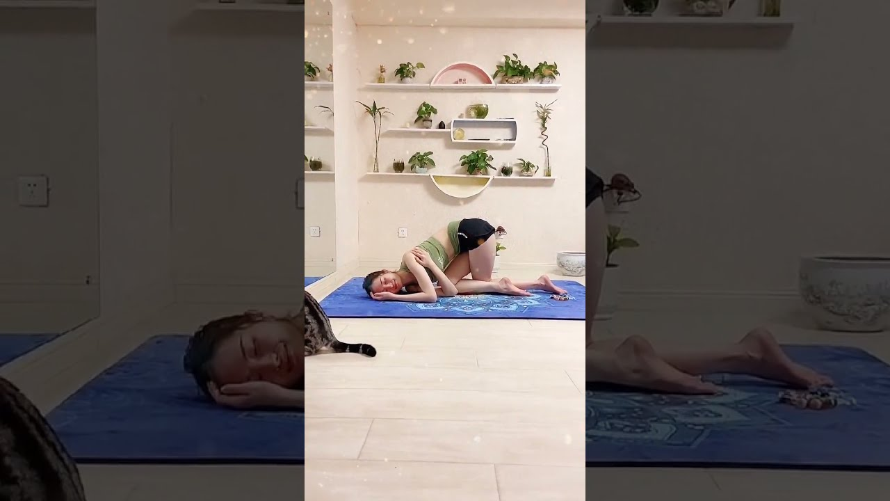 EASY Yoga Poses for Stretch and Flexibility #184