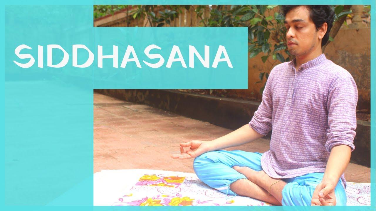 Siddhasana   Basic sitting position   YogaZone   Yoga for Beginners