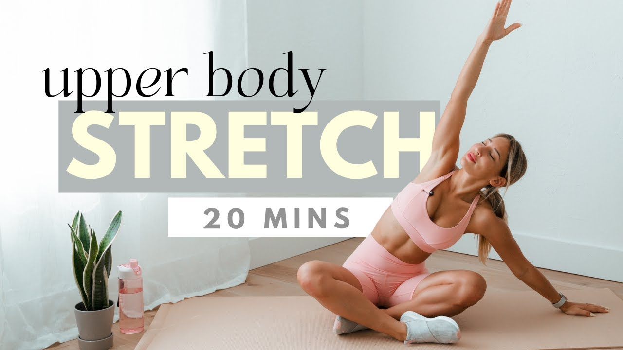 Upper Body & Back Stretch | 20 min stretching routine to relax stiff muscles