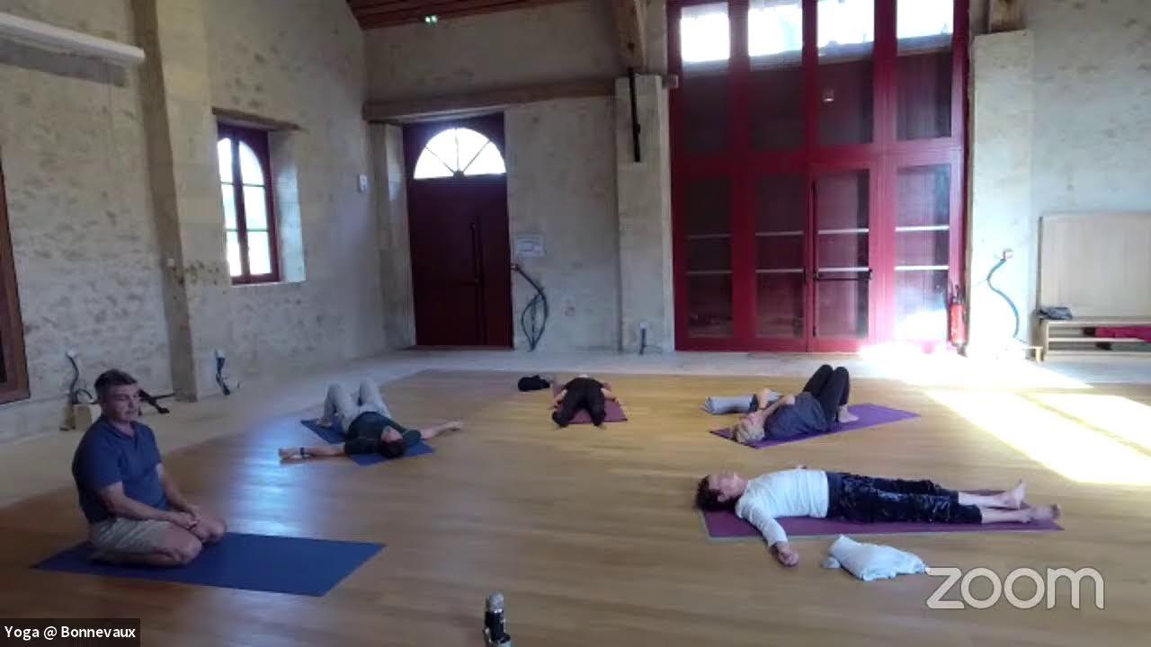 Yoga Class Online from Bonnevaux