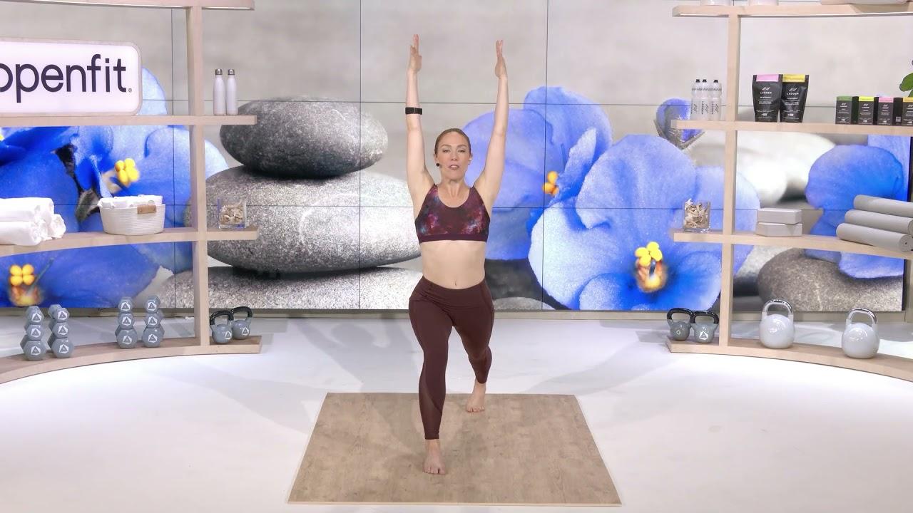 Day 1: 20 Min Yoga Sculpt with Kristin
