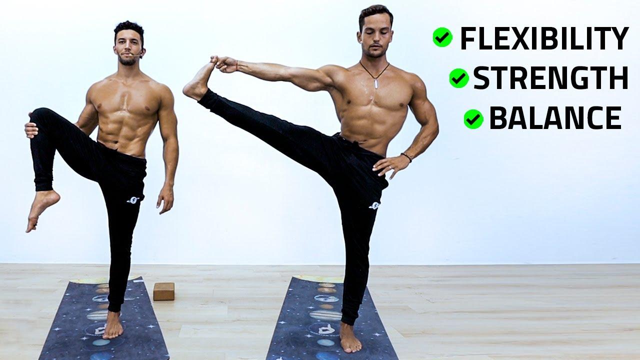 Beginner Yoga For Strength & Flexibility | 30min. Vinyasa Flow