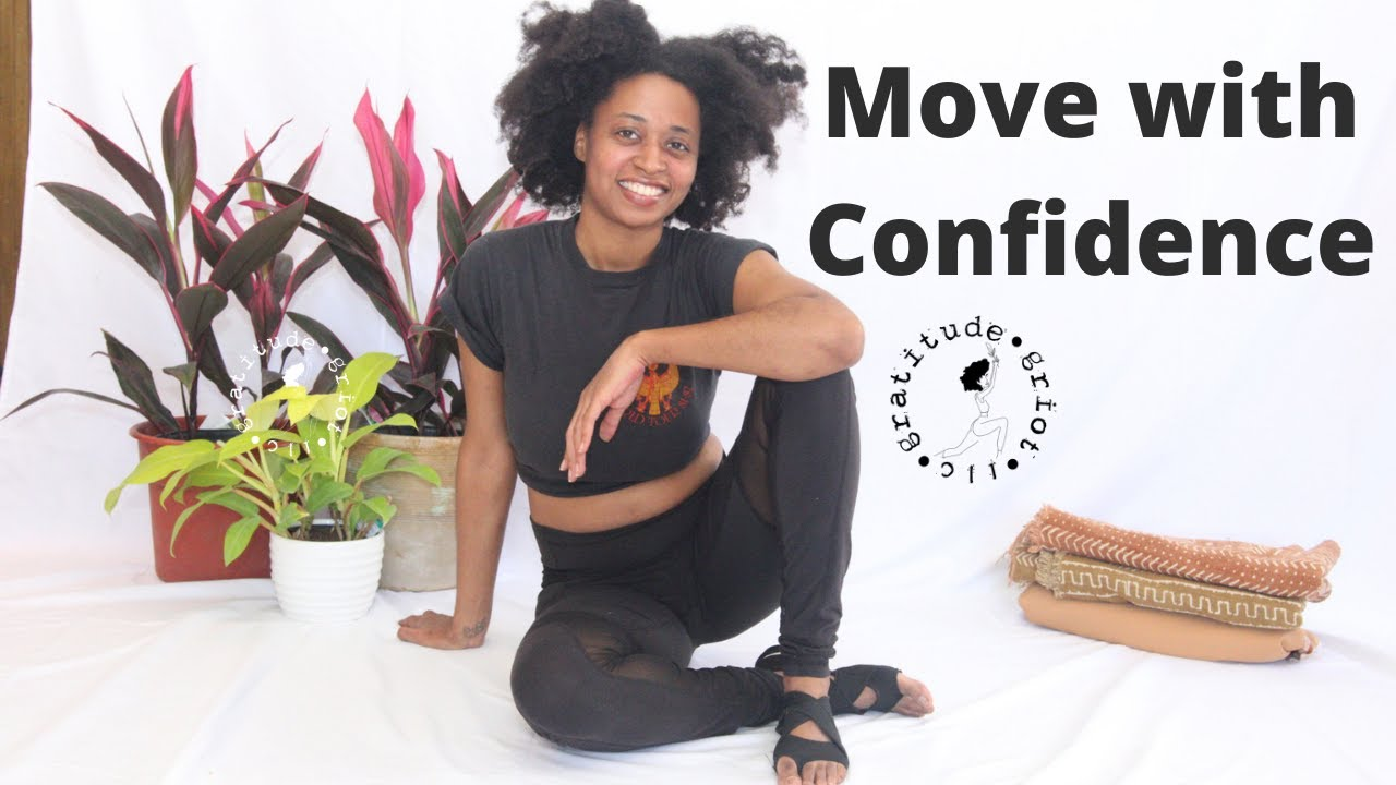 How to Build Self Confidence | Yoga for Confidence | Black Yoga Instructor
