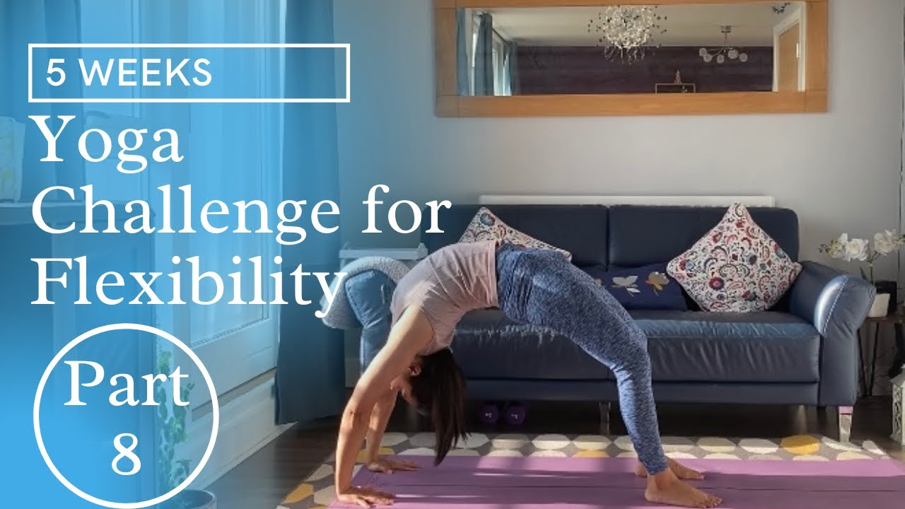 5 Weeks Yoga Challenge for Flexibility || 10 min Yoga Part #8- Backbends