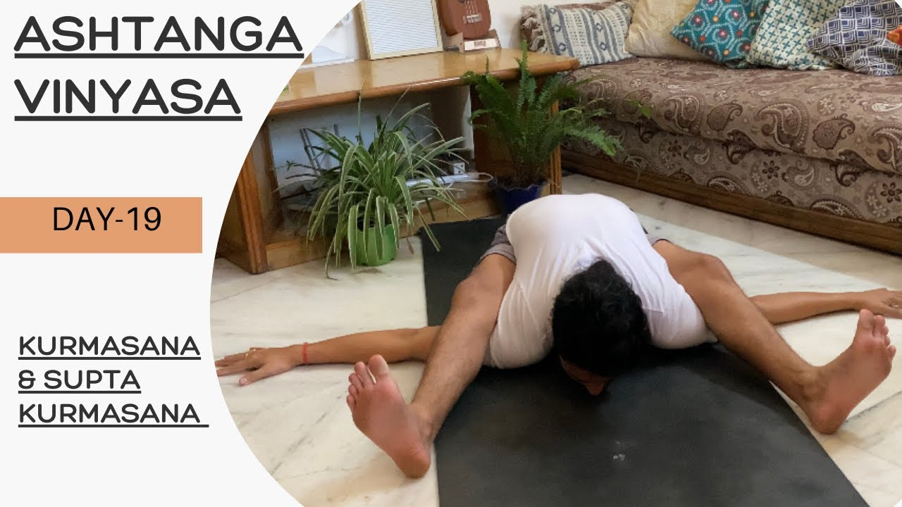 Kurmasana for beginners | ashtanga yoga beginners | Tortoise pose