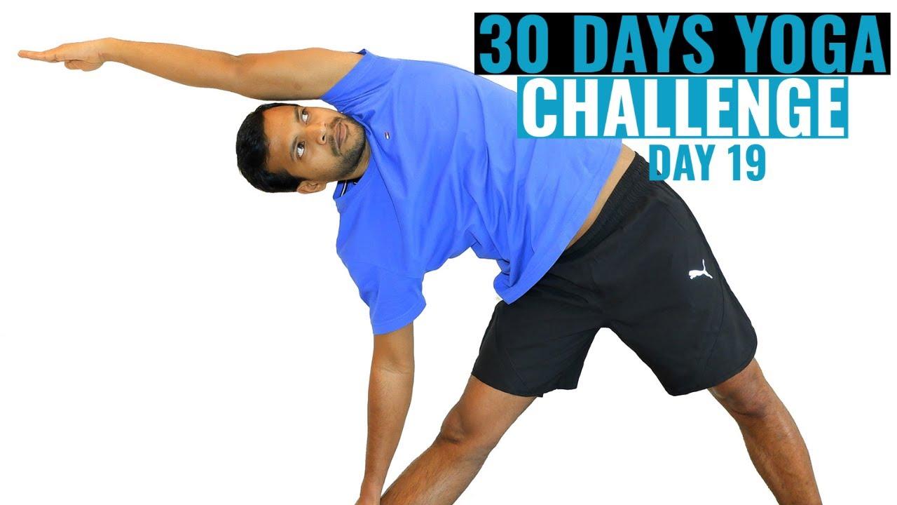 30 Days Yoga Challenge with Lallu Marquiz | Day 19