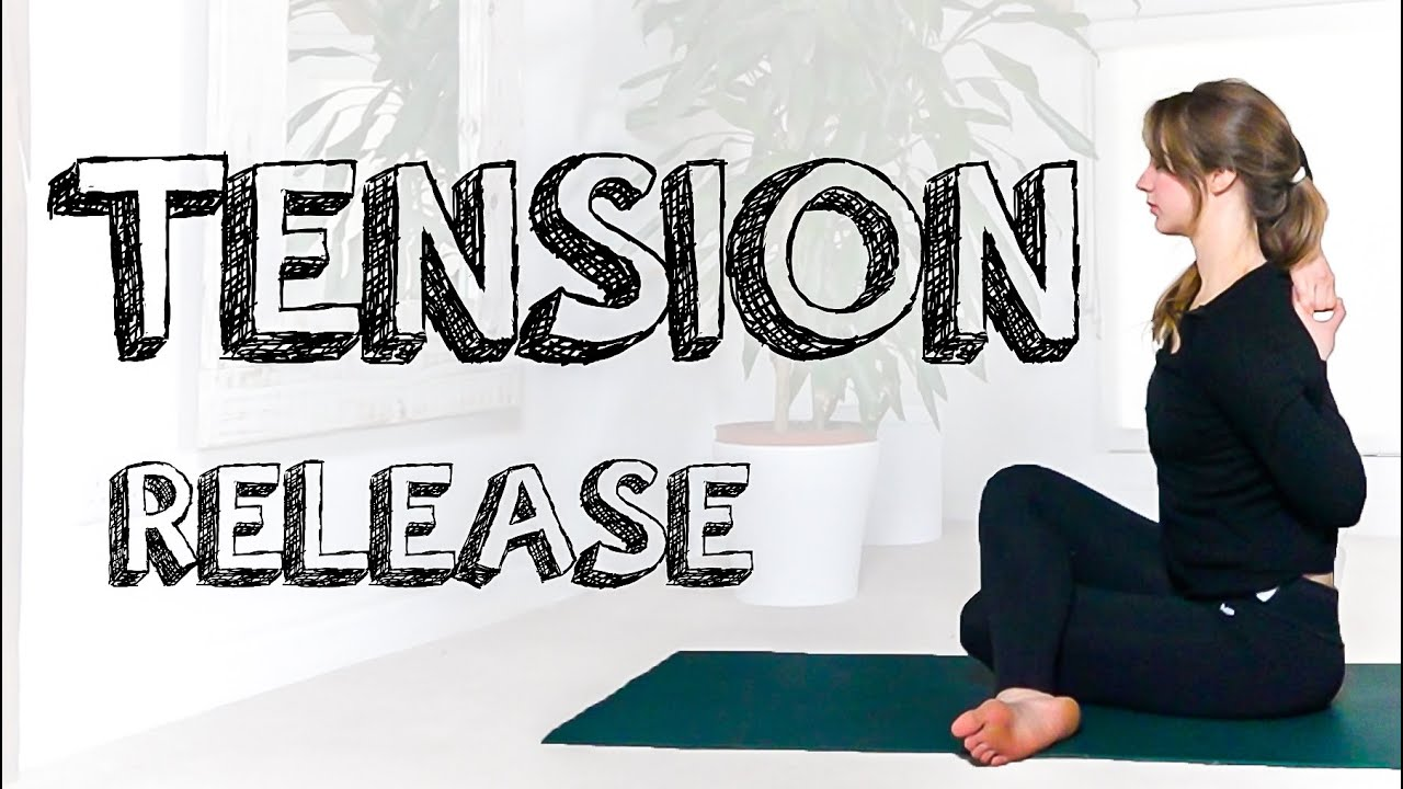 Intermediate Yoga Stretch For Full Body & Emotional Tension Release – Slow Mindful Yoga – YogaCandi