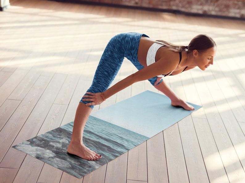Sky art Foam yoga mat, Sky lover, Skyline art, Sky mat, Namaste, Keeping Quiet, Pablo Neruda, Yoga Lover, 24″x72″ (61cm x 183 cm)