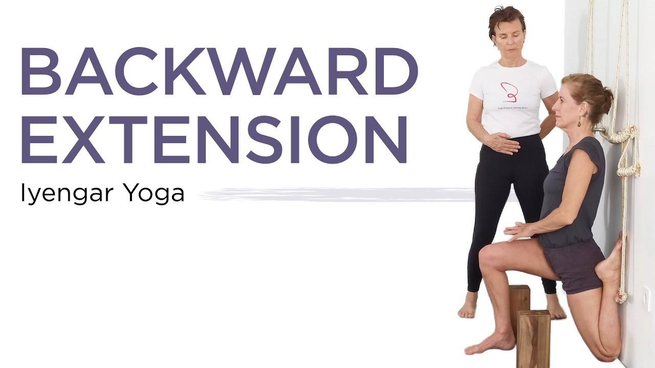 Iyengar Yoga-Backbends (Intermediate)