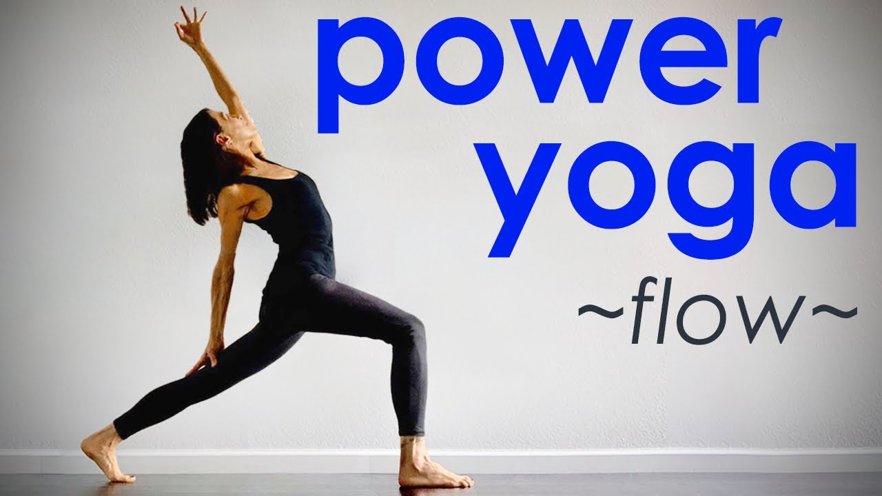 Power Yoga Flow ~ Strong Cardio Yoga Class